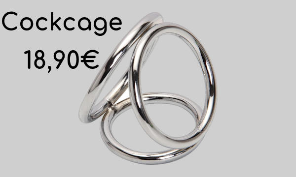 Le cockring triple Cockcage